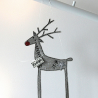 Rudolph the Reindeer - Hanging Decoration
