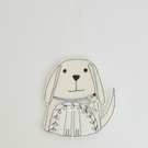 'Thank you for walking me' Mr Dog - Hanging Decoration