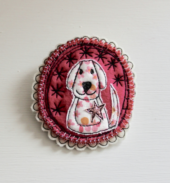 'Little Doggy' - Brooch