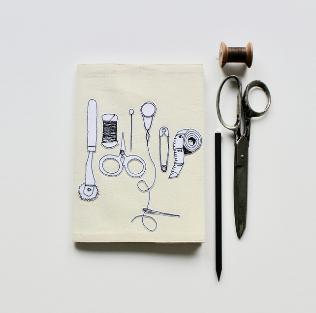 Sewing Essentials - Notebook and Cover