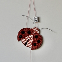 'Love Bug' Ladybird - Hanging Decoration
