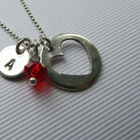 Those I love  silver necklace