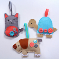 Pets - Large Kit - Felt sewing kit