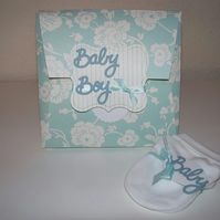 New baby boy card/ gift