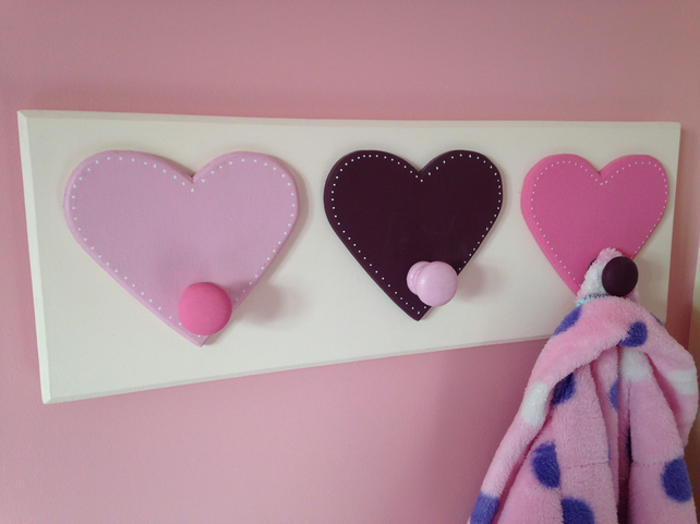 Hearts Coat Pegs