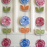 Flower Garland Hanging Decoration