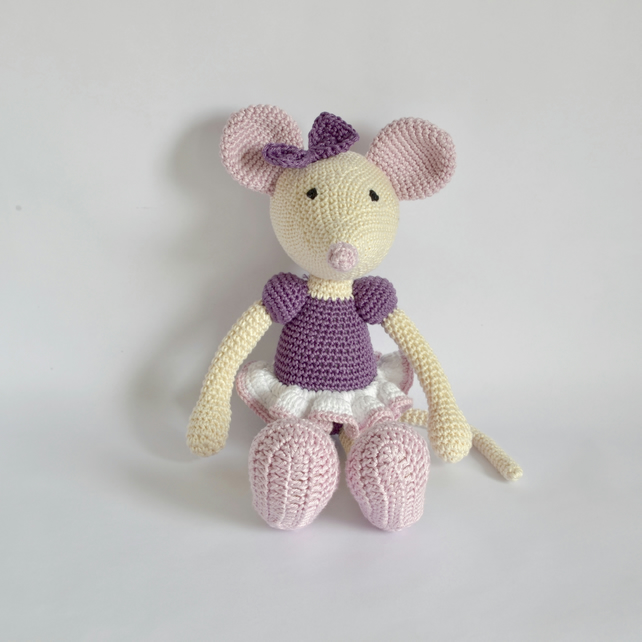 Ballerina mouse pattern in a new version | lilleliis | 642x642