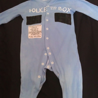 Police box sleep suit