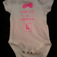 Trainee princess vest