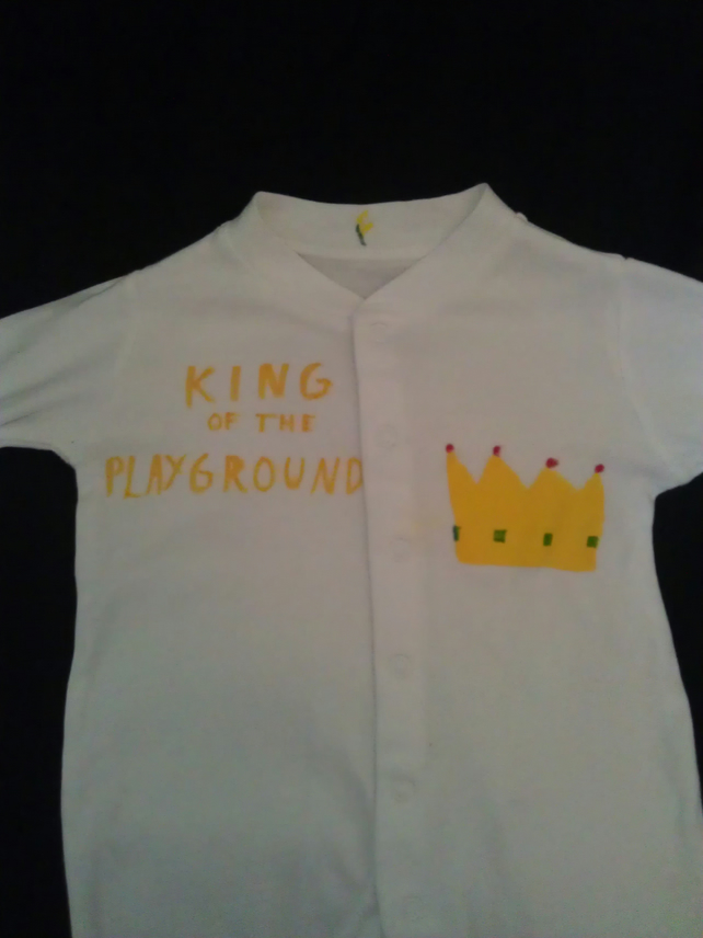 King of the playground suit