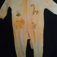 Yellow animals suit