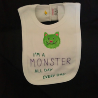 Monster bib