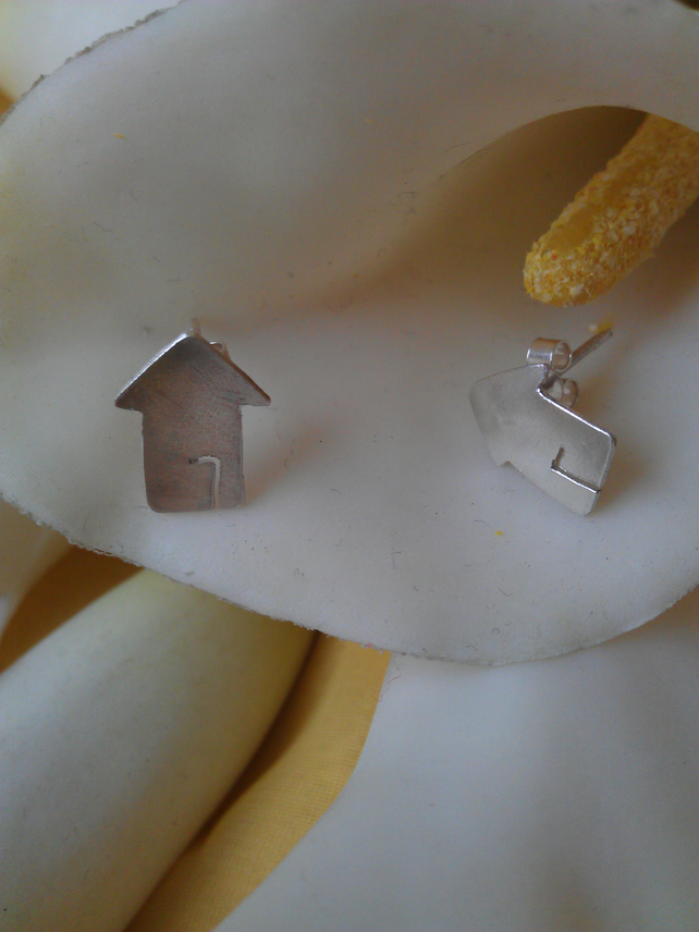 House sterling silver earrings