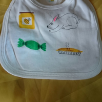 Honey bunny sweetie pie bib