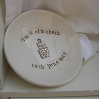 Personalised Wedding Dish Gift