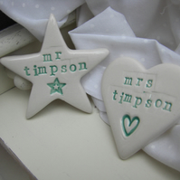 Pair of Magnets Wedding Gift