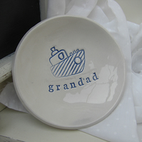 Boat Design Personalised Ceramic Dish