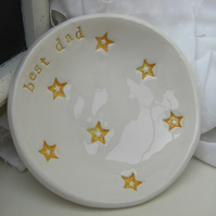 Star Design Personalised Ceramic Dish
