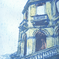 East Wing Limited Edition Original Collagraph Print Art