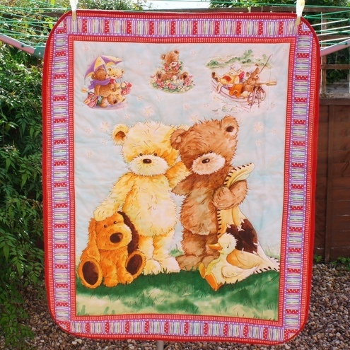 Tatty Teddy Cot Quilt