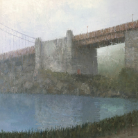 Golden Gate Bridge, Signed Fine Art Print 26x9 inches