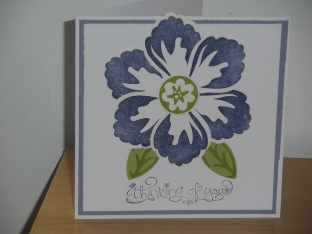 Flower card - any occassion