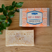 Handmade Honey and Oat Soap