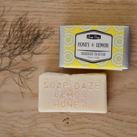 Handmade Lemon and Honey Soap