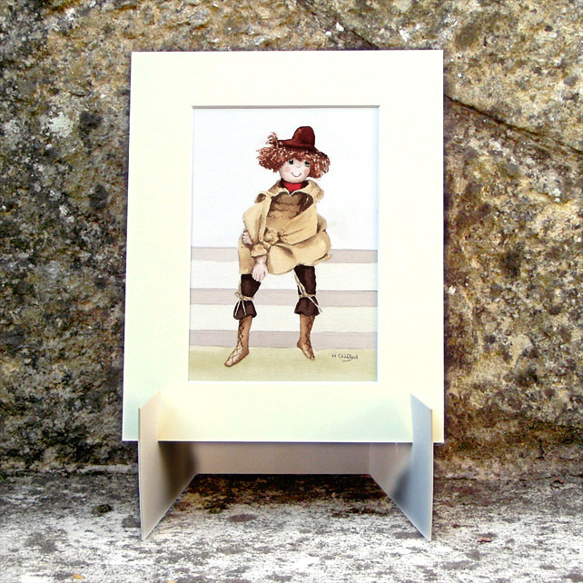 Doll Original Watercolour Painting