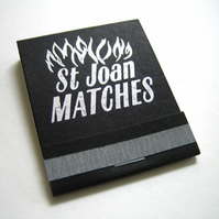 Sexy Saint Joan of Arc Matchbook