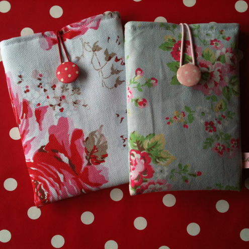 ***SALE*** Handmade phone/iPod/camera sleeve in Cath Kidston/Laura AshleyFabric
