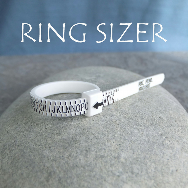 Ring sizer - Finger sizer - Gauge - Measurer - Know your ring size