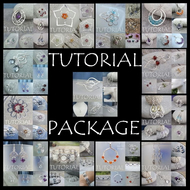 WIRE JEWELLERY TUTORIAL PACKAGE - Buy any 5 for 12 pounds (save 3 pounds)