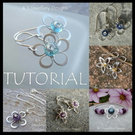 Wirework Tutorial - WIRE FLOWERS (4 variations) - Wire Jewellery - Wire Wrapping
