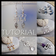 Wirework Tutorial - WIRE BLOSSOMS (Earrings and Pendants) - Wire Jewellery