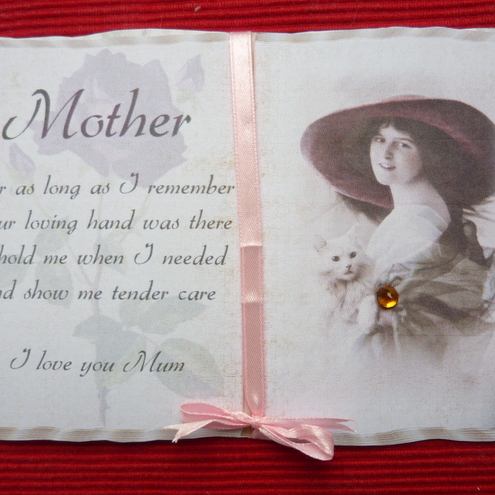 Mother Book card