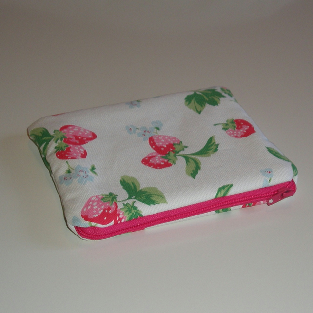 Cath Kidston 'Strawberry' Padded Make Up Bag
