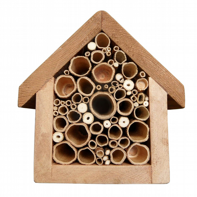 Bee my Valentine bee Hotel, lovingly embellished with pyrography design