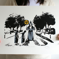 Lord Of The Rings 'Thou Shall Not Pass' Hand Pulled Limited Edition Screen Print