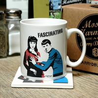 Star Trek Spock Fascinating Earthenware Ceramic Mug