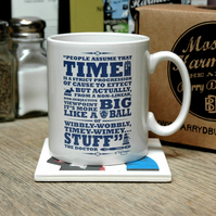 Doctor Who Time Earthenware Ceramic Mug