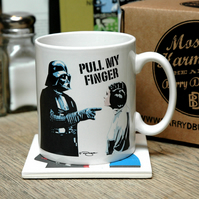 Star Wars Pull My Finger Earthenware Ceramic Mug