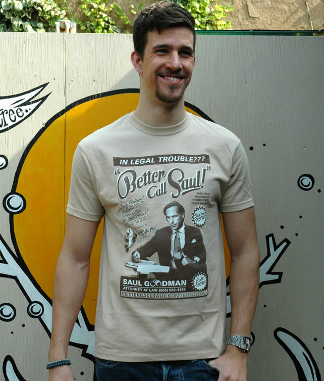 Breaking Bad 'Better Call Saul' Screen printed T Shirt