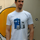Sci-fi Geek 'Convention' Screen printed T Shirt