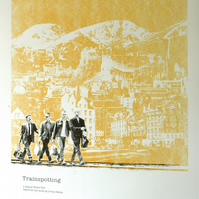 Trainspotting Hand Pulled Limited Edition Screen Print