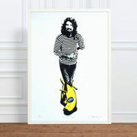 Billy Connolly 'The Big Yin' Hand Pulled Limited Edition Screen Print