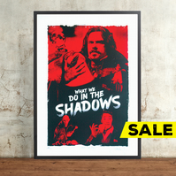 What We Do in the Shadows Hand Pulled Limited Edition Screen Print