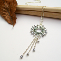 'Halo' Necklace - Silver
