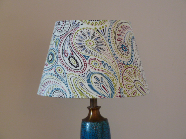 Liberty Silk covered lampshade 30cm