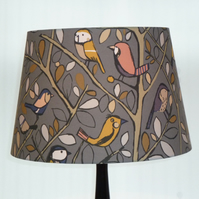 Home Birds Large Lampshade for a Standard Lamp